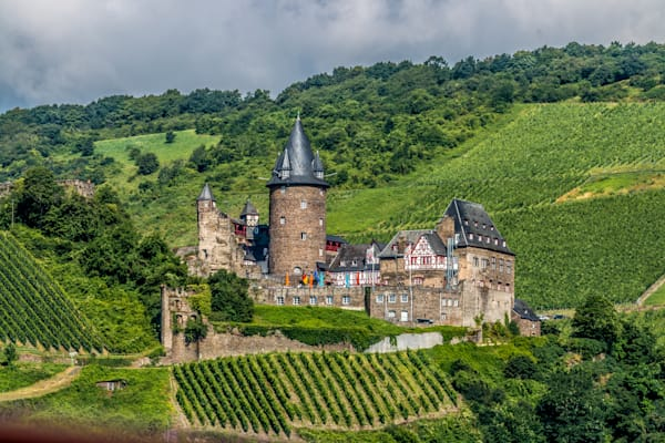 Castle In The Vineyard Photography Art | Peter J Schnabel Photography LLC