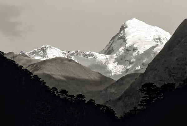 Bhutan Black and White