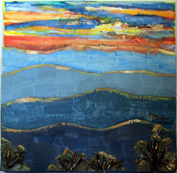 Landscapes - Original Paintings - Fine art prints for sale by Teena Stewart of Serendipitini Studio