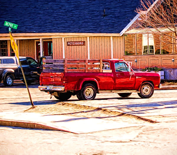 The Red Truck Photography Art | Peter J Schnabel Photography LLC