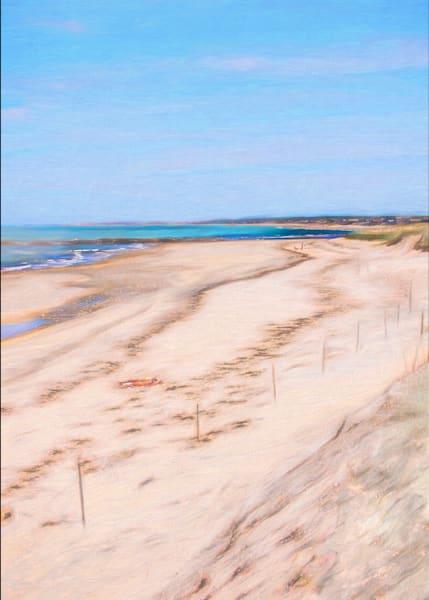 Beach sand patterns