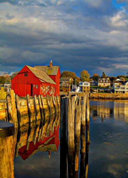 Iconic Rockport Fishing Barn