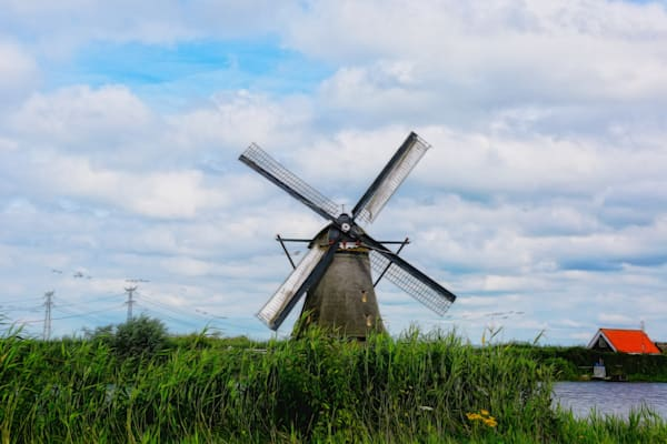 Iconic Netherlands Windmills