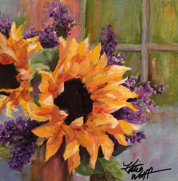 12x12 Sunflower Art | HFA print gallery