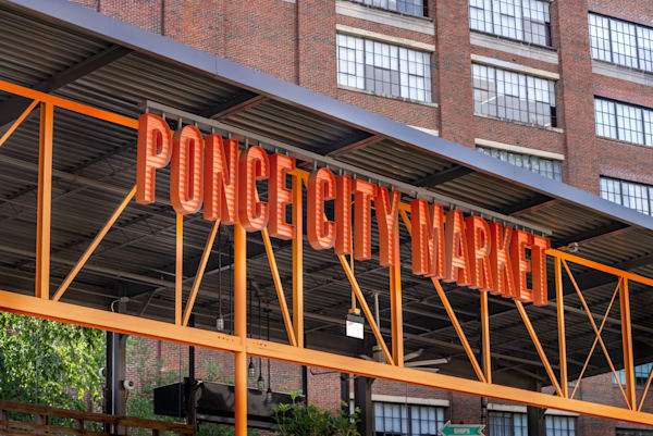 Ponce City Market Sign | Susan J Photography