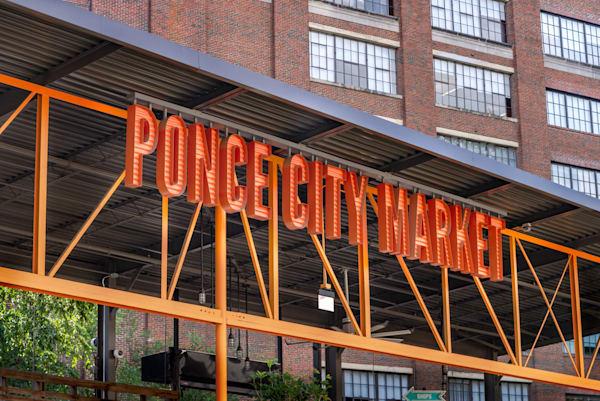 Ponce City Market Sign | Susan J Photography
