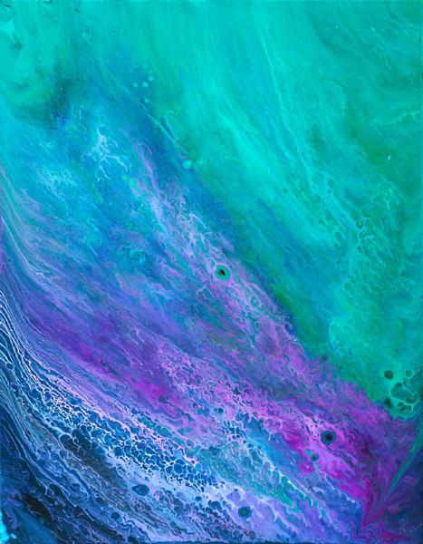 Abstract Fluid Acrylic Prints