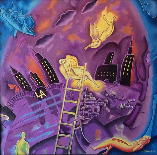 """The Ladder"" by Humberto Rebollo 