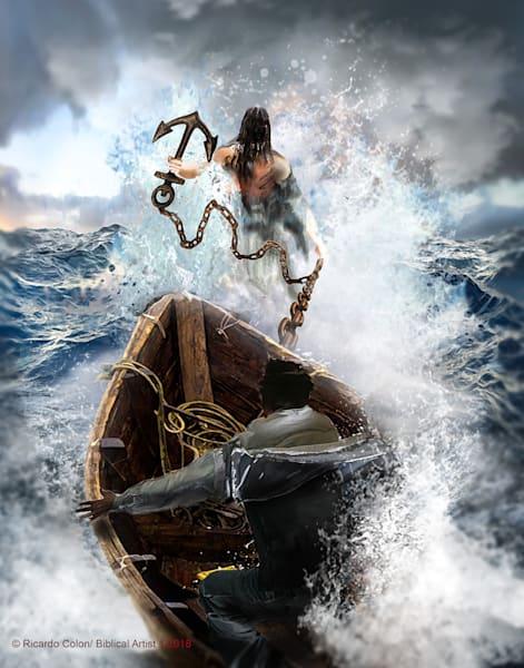 """Hooked On Jesus"" by Ricardo Colon | Prophetics Gallery"