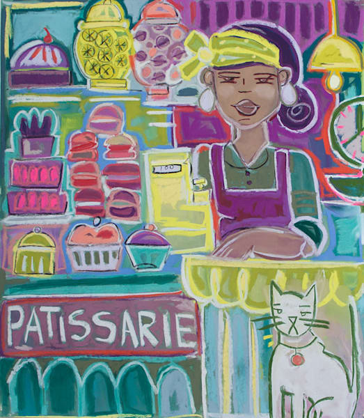 Patissarie original art work on paper