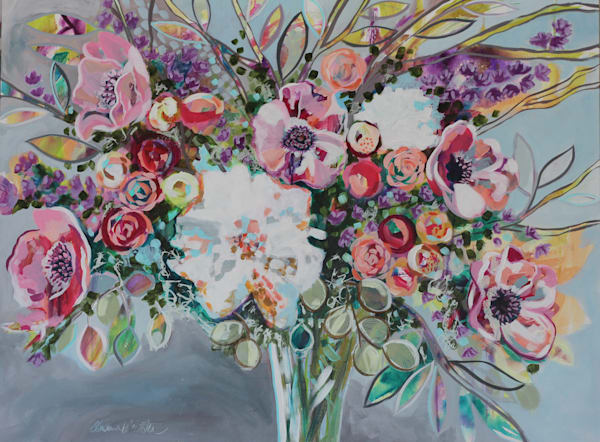 Blossoms Burst And Joy Overflows Art by kristinwebster