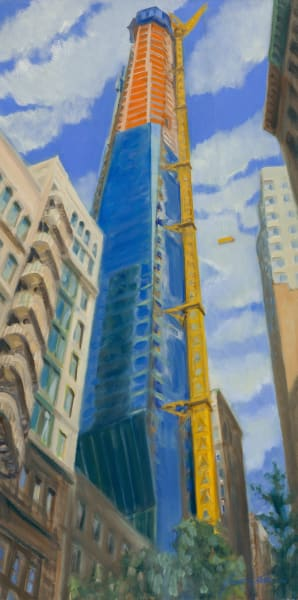 Print of E 22nd Street Rising, 2016