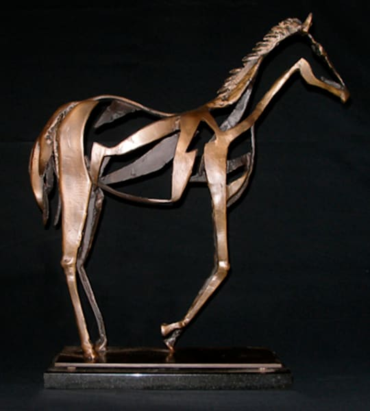 Sugarfoot by Al Glann | Original Bronze Sculpture | Southwest