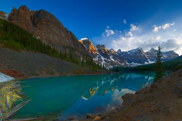 Moraine Lake. Canadian Rockies|Banff National Park| Rocky Mountains|