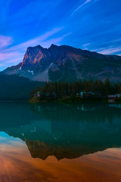 Emerald Lake.|Canadian Rockies|Rocky Mountains|Banff|