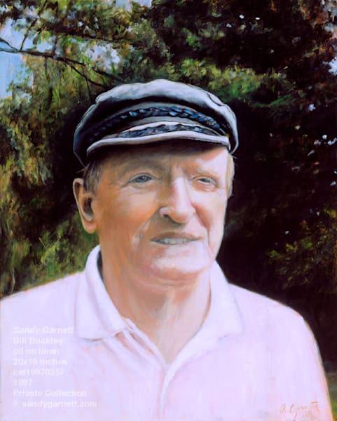 Portrait of Bill Buckley