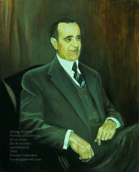 Portrait of Anthony Lamura