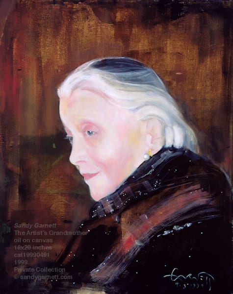 Portrait of the Artist's Grandmother
