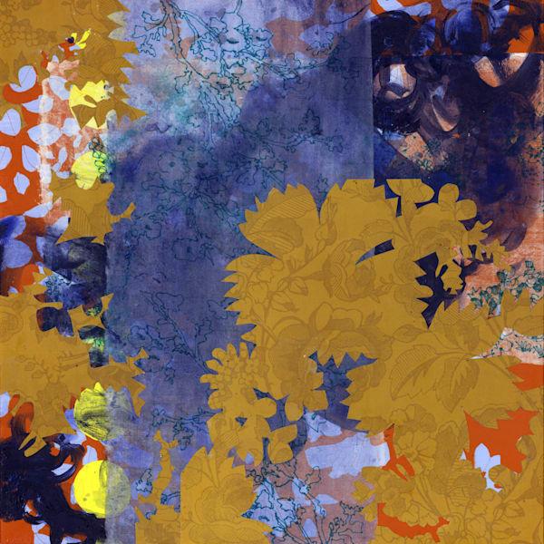Abstract Art - Multi Media Botanically Inspired Art for Sale