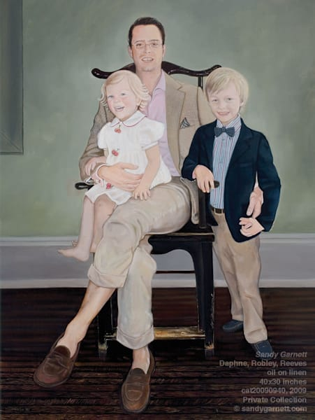 Portrait of Daphne, Robley, and Reeves