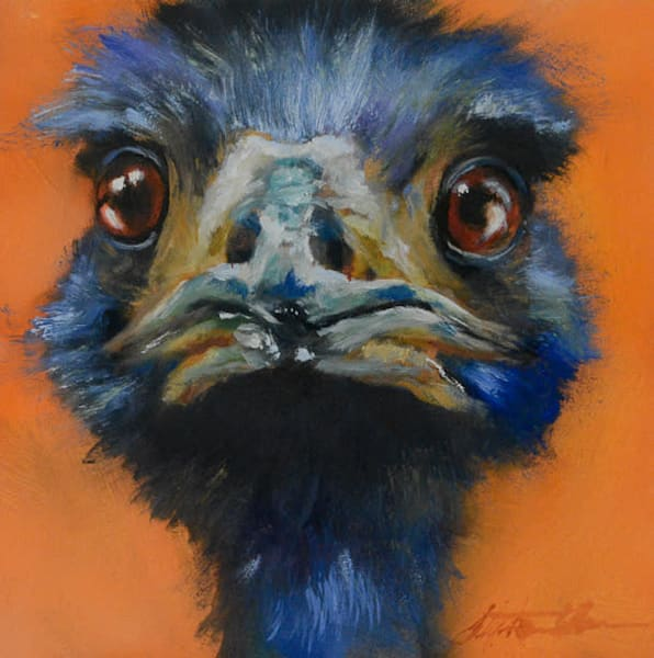 In Your Face: Emu
