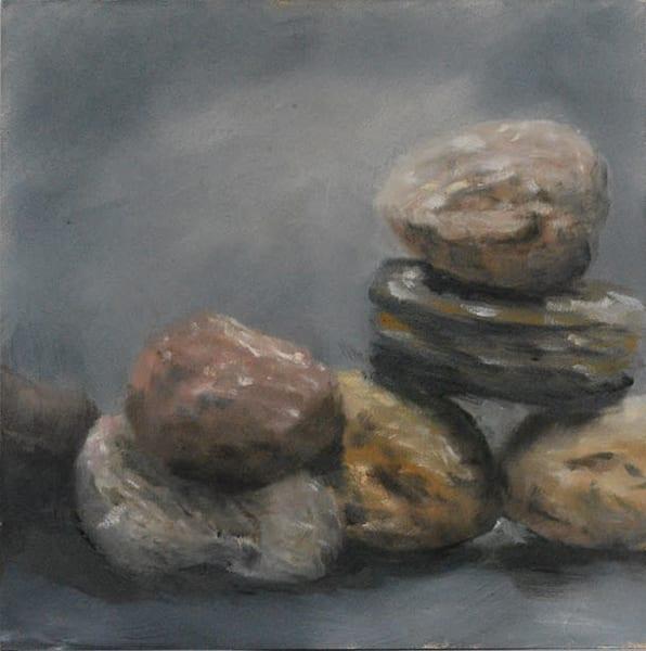 Original Painting: Rocks Are Hard