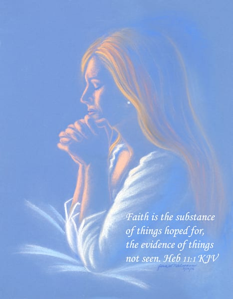 """Prayer for Healing"" - Mental Health Awareness Art by Glori Kohlmann 