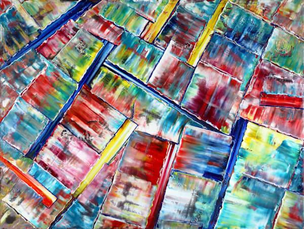 Fragmented PMS fine art print