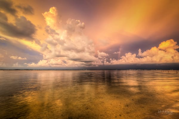 Sanibel Stormy Twilight Photographic Art