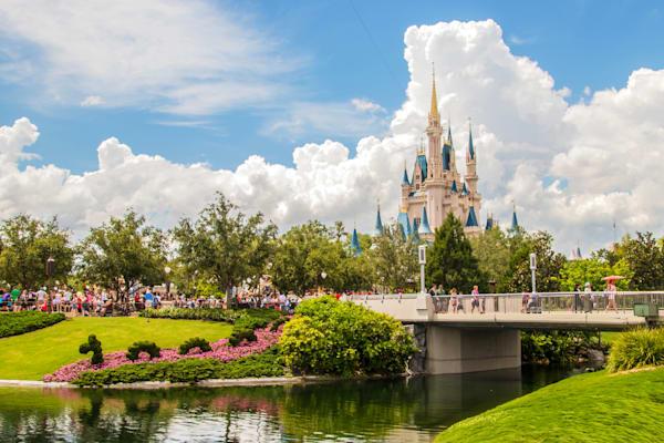 Perfect Disney Day - Cinderella's Castle Art | William Drew