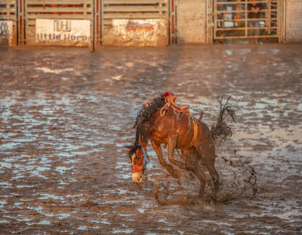 Broncs ..1  Cowboys.. 0   Weather..Slight Chance Of Rain Photography Art | JL Grief Fine Art Photography