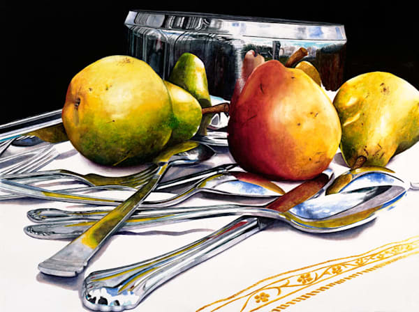 Pear Mosaic Art | Digital Arts Studio / Fine Art Marketplace