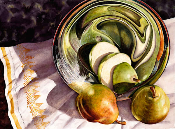 Pear Go Round 2 Art | Digital Arts Studio / Fine Art Marketplace