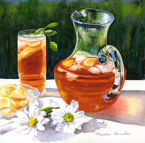 Sweet Southern Tea Art | Digital Arts Studio / Fine Art Marketplace