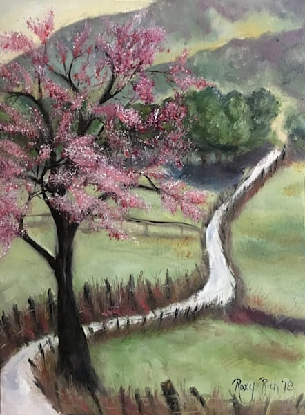 Cherry Blossom Landscape