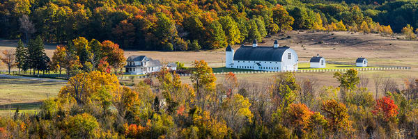Autumn At The Dh Day Barn Photography Art | Drew Smith Photography, LLC