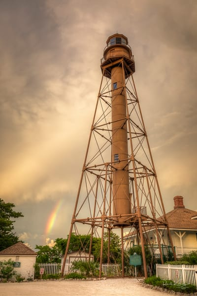 Rainbow at the Lighthouse Photographic Art