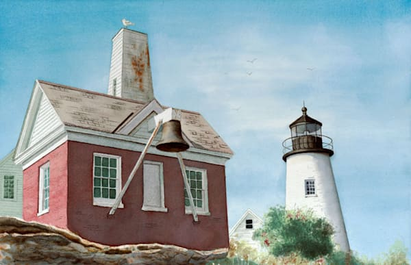 Pemaquid Lighthouse Me Art | Digital Arts Studio / Fine Art Marketplace