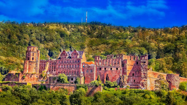 Heidelberg Castle Photography Art | Peter J Schnabel Photography LLC