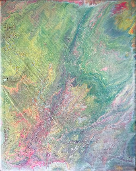 Dissolve PMS Fluid Abstract Painting