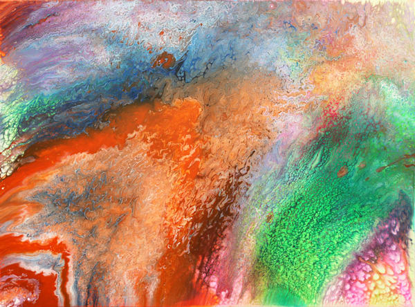 Origins 3 PMS Fluid Painting