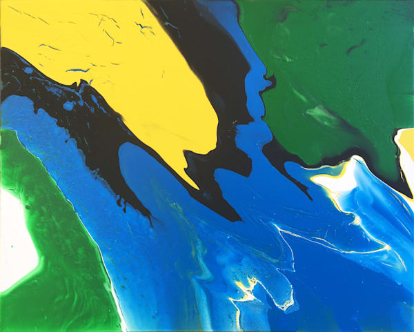 Immersion PMS Fluid Acrylic Painting