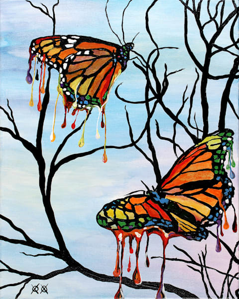 Melting Butterflies by John Bramblitt