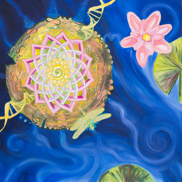 DNA Water Lily Art for Sale