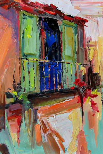 Balcon Verte by Carole  Watanabe