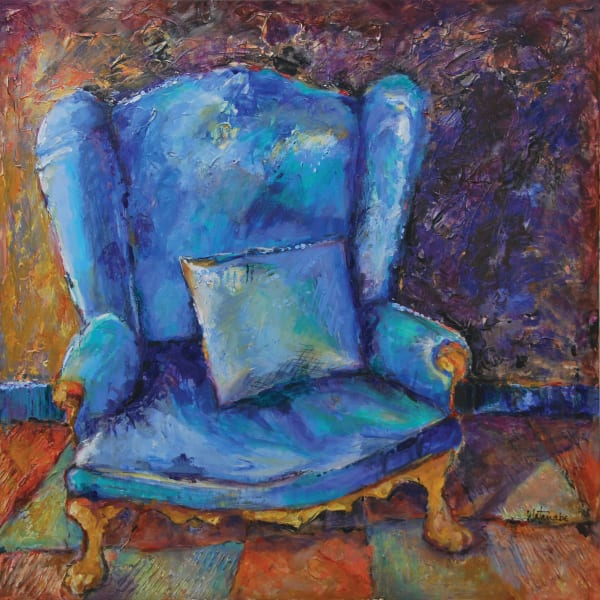 Big Blue Chair by Watanabe