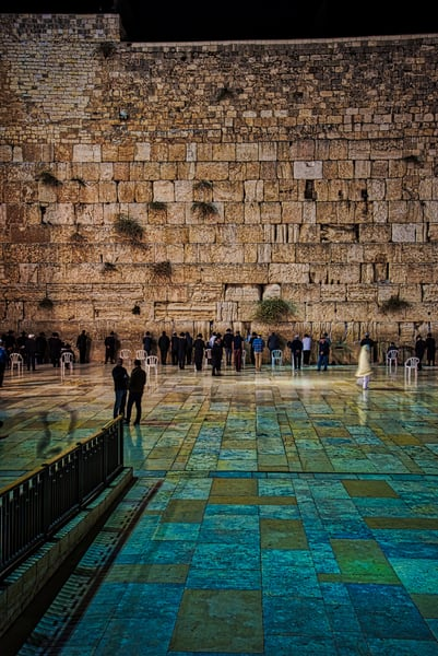 Western Wall 1  Art | Nashville Noted Photography