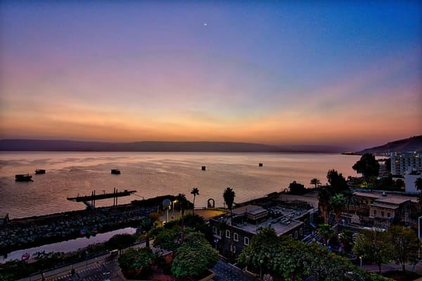 Sea Of Galilee 1 Art | Nashville Noted Photography