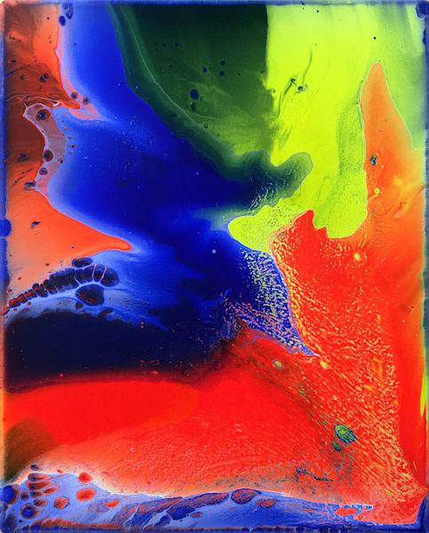 Razzle Dazzle PMS Acrylic Painting