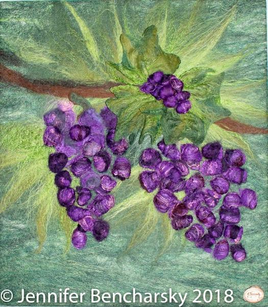 Wine Berries Art | FeltinArt